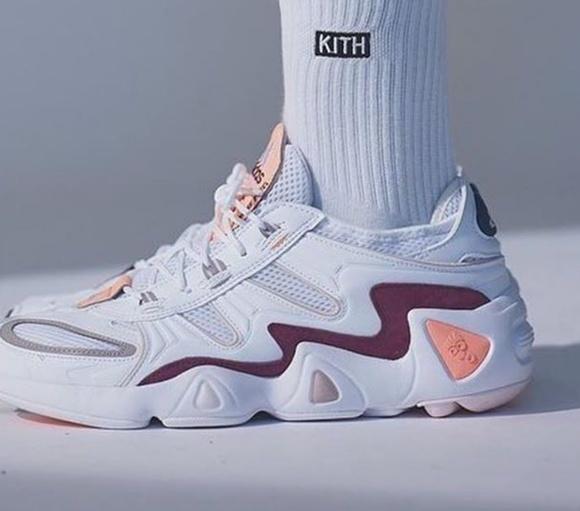 KITH x Adidas FYW S 97 'peach purple' Sneakers NWT